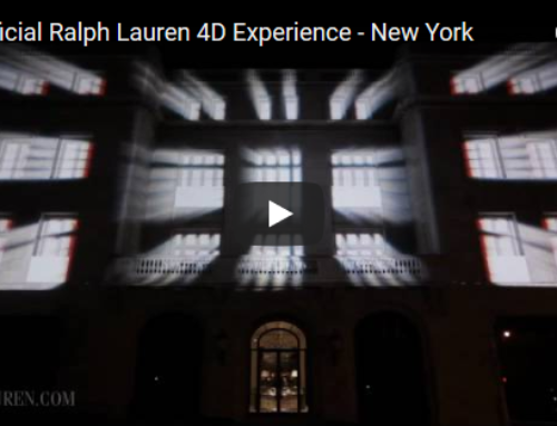 Ralph Lauren 3D projection mapping